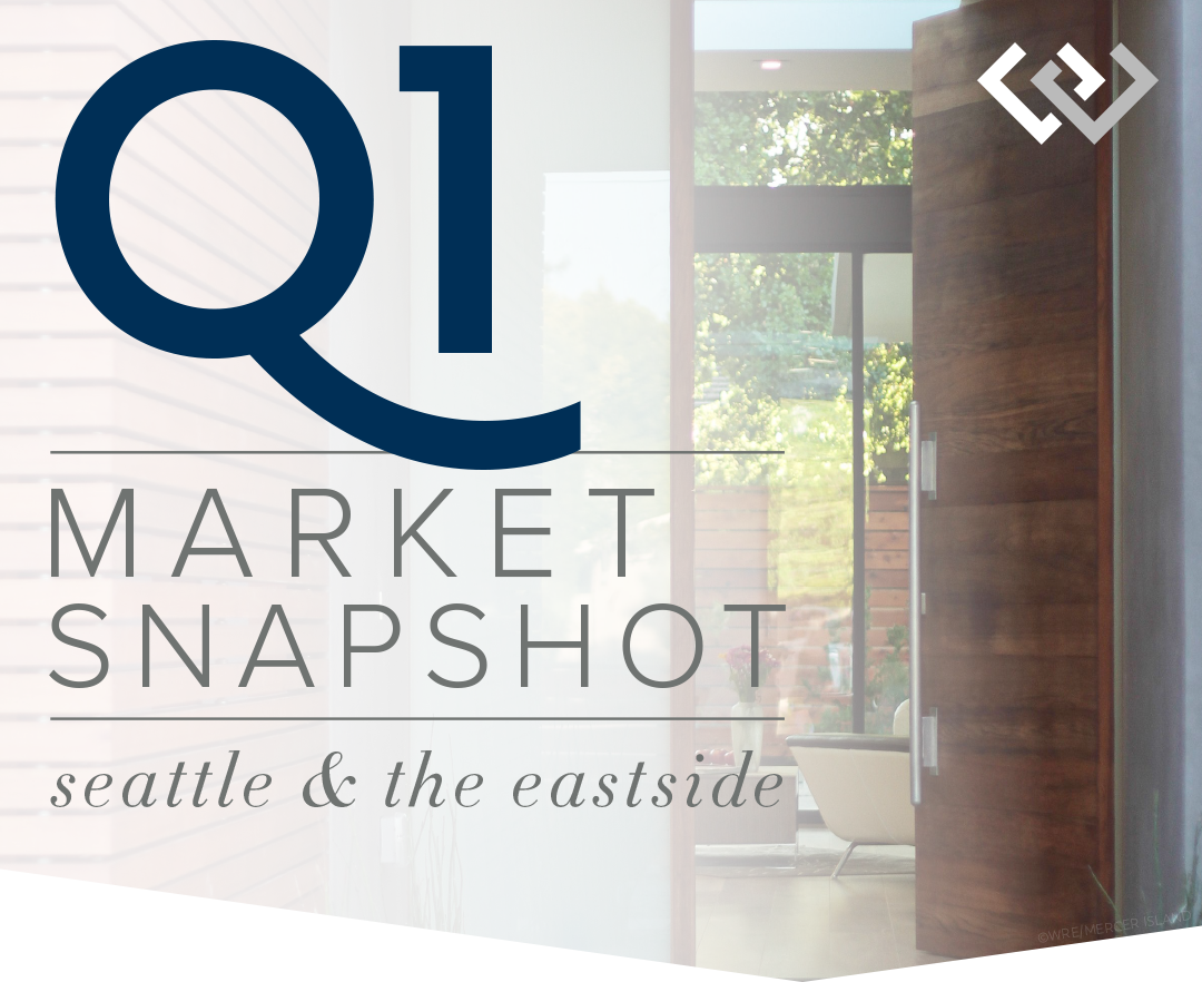 Q1 Market Snapshot for Seattle and the Eastside